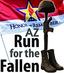 Fourth Annual Arizona Run for the Fallen, October 13-15 2017 -  Tucson to Phoenix - 300 heroes