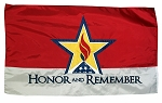 Hand-Sewn Honor and Remember Flags