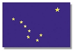 Alaska State flags (all outdoor sizes)