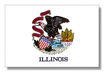 Illinois State flags (all outdoor sizes)