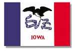 Iowa State flags (all outdoor sizes)