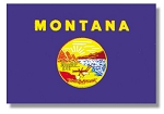 Montana State flags (all outdoor sizes)