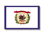 West Virginia State flags (all outdoor sizes)