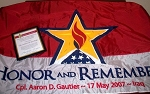 HR Personalized Flag Presentation Sponsorship (Designated)