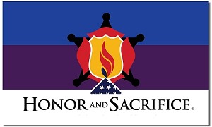 Screen-Printed Honor and Sacrifice Flags