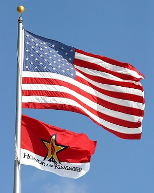Honor and Remember Flag - standard (special internet pricing)