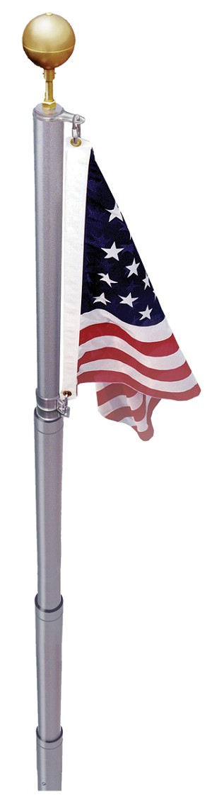 21' TELESCOPIC LIBERTY POLE