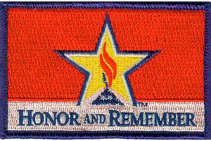 Honor and Remember Flag Patch