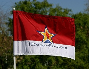HR Golf Pin Flag