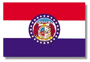Missouri State flags (all outdoor sizes)